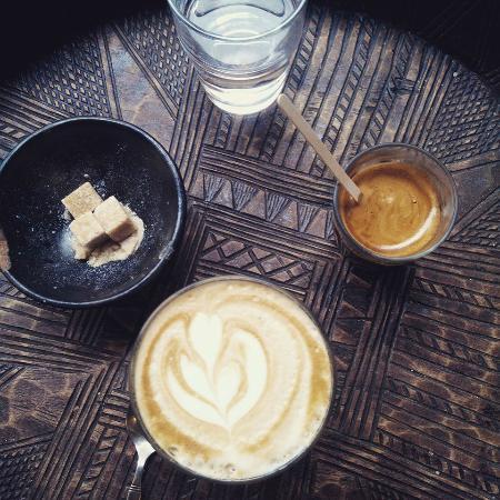 Cappuccino et Doppio Espresso