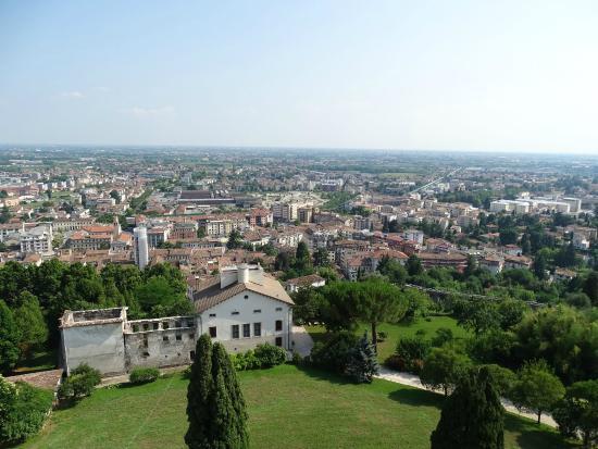 Castello di Conegliano, вид