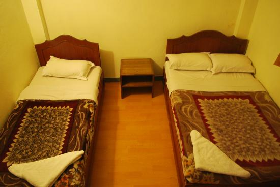 Hotel Potala: Twin Bed room