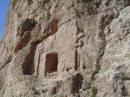 Dogubeyazit, تركيا: URARTU KALESİ KRAL MEZARLIĞI