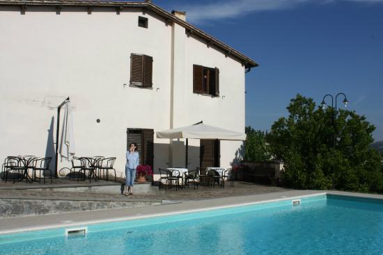 Villa Acquafredda : il piccolo hotel con la piscina