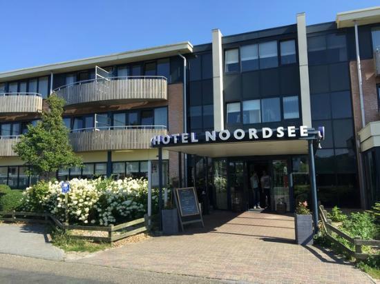 WestCord Hotel Noordsee : Mein Zimmer: 2. Etage, dritter Balkonabschnitt von links