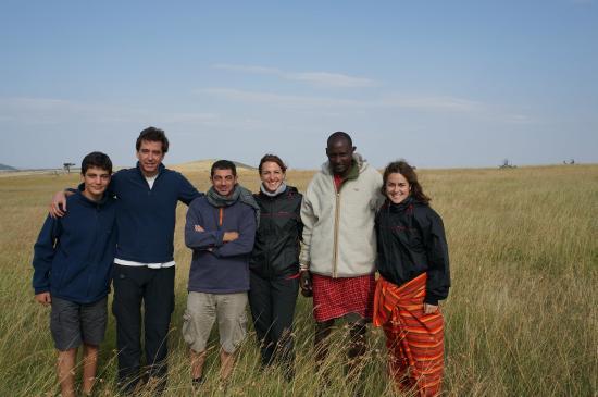 Enkewa Mara Camp: compañeros de safari