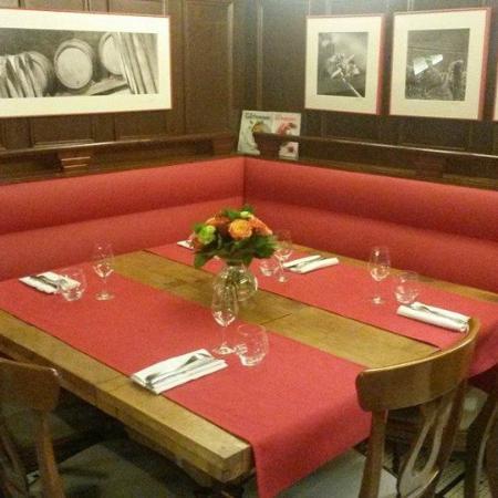 L'auberge La table gourmande de Christophe : La table VIP
