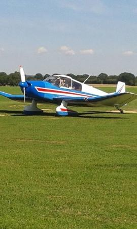 Headcorn, UK: Plane