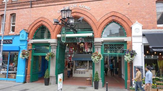 George's Street Arcade: Inngangsparti