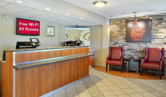 Red Roof Inn Lexington North: Lobby