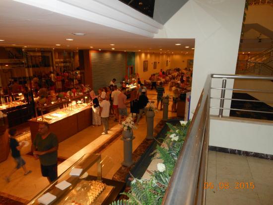 Hotel Ozkaymak Incekum: Ресторан основной в корпусе