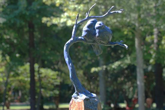 Annmarie Garden : Bluebirds