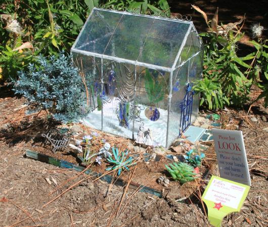 Annmarie Garden: One of 54 Fairy Garden Tableaux