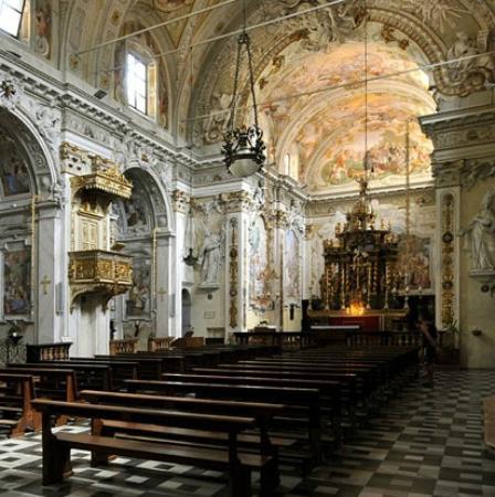 scorcio interno Chiesa San Vittore Porlezza