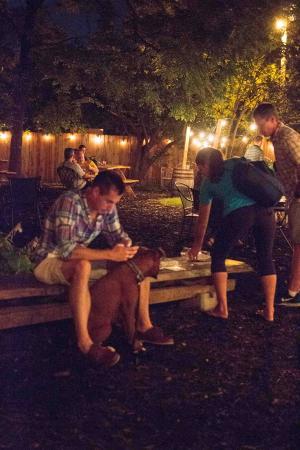 Huntsville, AL: night time seating