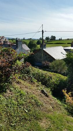 Llannefydd, UK: View from garden