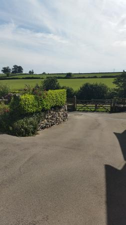 Llannefydd, UK: View from the cottage