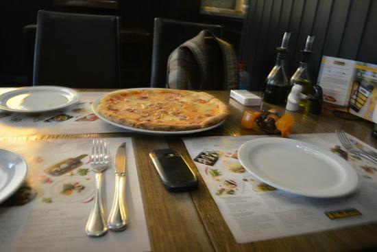 Il Molino: Пицца без грибов