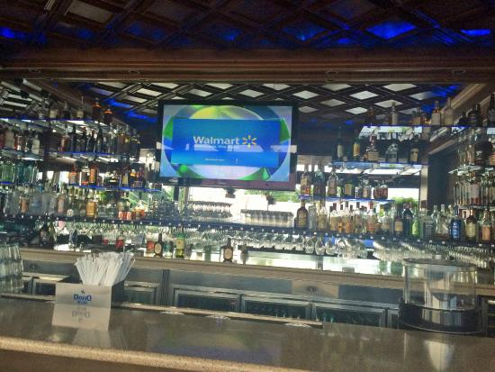 Fully stocked bar picture of casablanca seafood bar for Garcia s seafood grille fish market miami fl