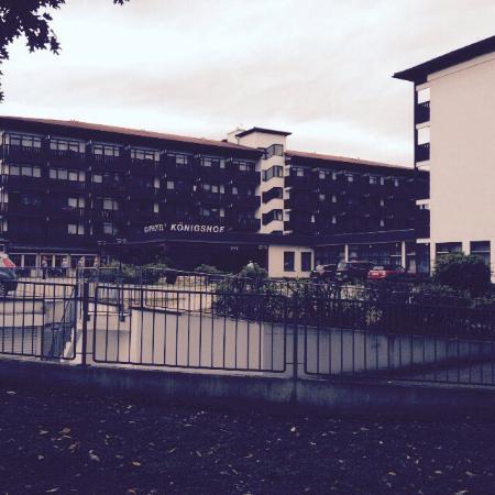 Johannesbad Hotel Königshof: Weitflächiges Hotelgelände