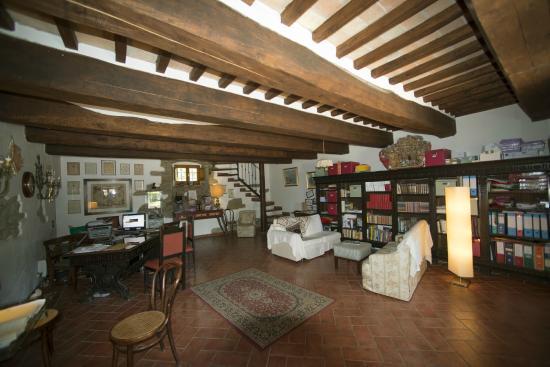 Piazzano, Italy: Salone di Accoglienza