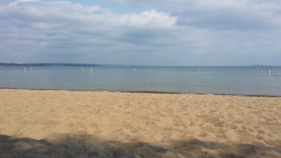 Cambria hotel & suites Traverse City: The beach