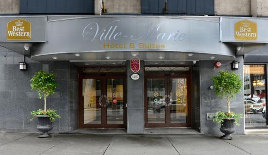 BEST WESTERN Ville-Marie Hotel & Suites: Entrance