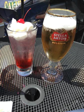 Raspberry Cream Soda And Ice Cold Stella Artois Picture