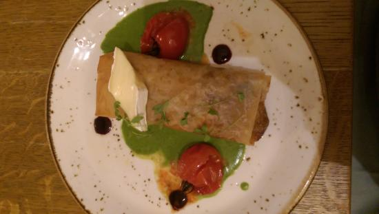 The White Horse: Delicious food