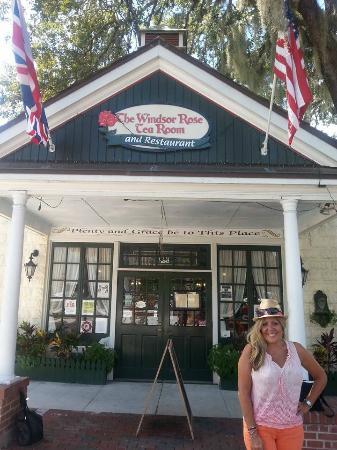 Windsor Rose Tea Room Restaurant Quaint In Mt Dora Florida
