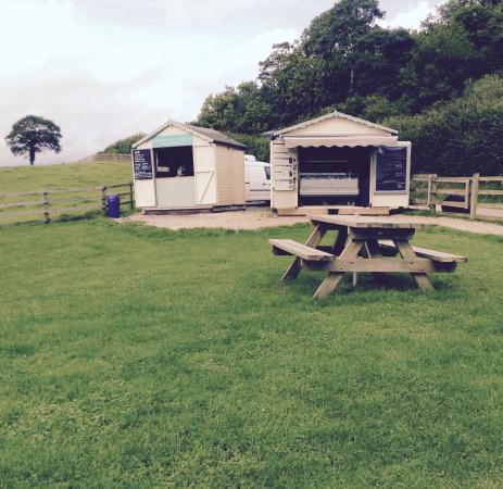 Monkton, UK: The icecream hut