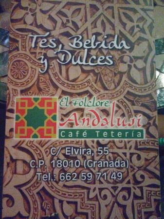 Teteria El Folclore Andalusi