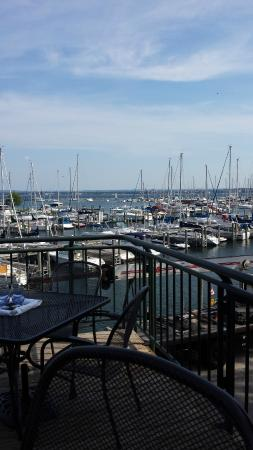 Harbor 22 Bar and Grill: view from the deck