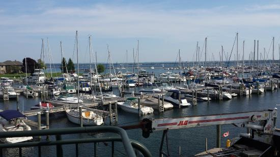 Harbor 22 Bar and Grill: view from our table