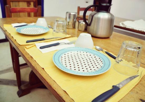 Posada Ranchito Power: Desayunador