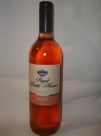 Bolton, UK: Our House Wine