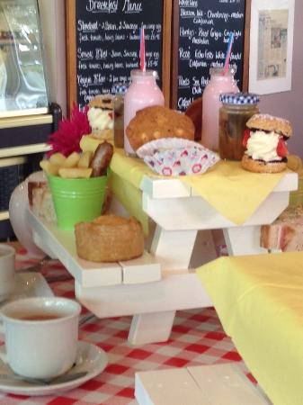 "Ma Baker: ""Amazing Treat"" 5 of us went for the fantastic picnic bench lunch is well worth it, Maureen is a"