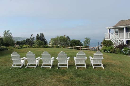 Topside Inn: The view