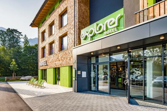 Explorer Hotel Berchtesgaden: Eingangsbereich