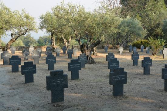 Cuacos de Yuste, España: Cementerio alemán