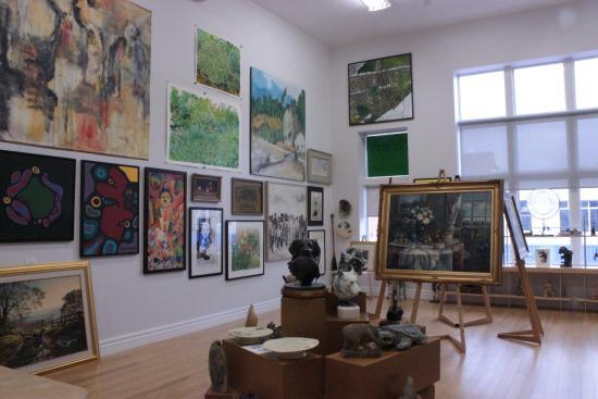 Gallery de Boer, Fine Art & Jazz: Gallery shot