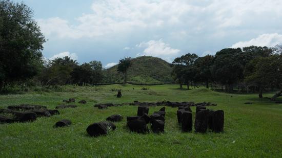 Zona Arqueologica La Venta: Vista al montículo principal