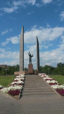 Statue of Gagarin