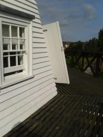 Rye Windmill B&B : On the balcony