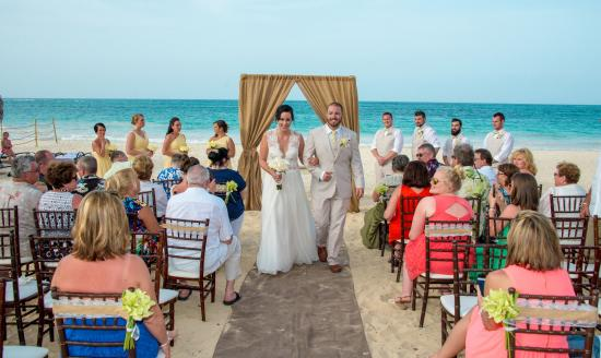 Paradisus Punta Cana Resort Our Beach Wedding