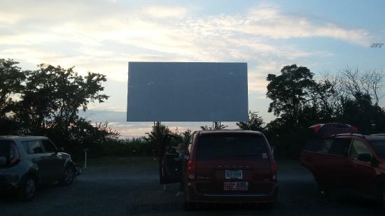 The Family Drive-In Theatre: Waiting for the movie to start