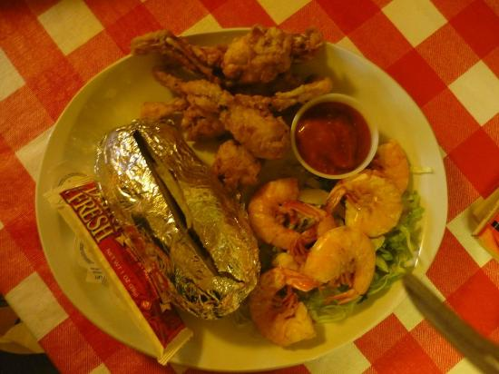 Waterford, MS: Frog Legs & Shrimp