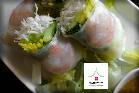 Banh Thai : Rouleaux de printemps