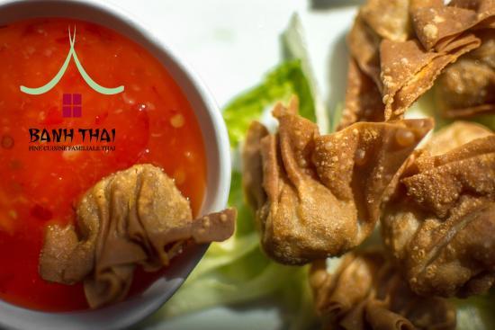 Banh Thai : Papillotes de porc