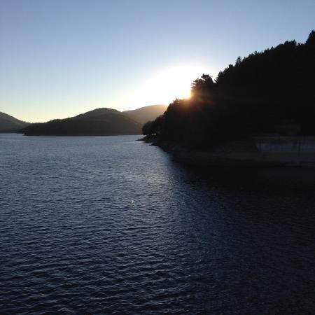 Hotel Lo Sciatore : Tramonto sul lago Ampollino. Zlatan2005 ago 2015