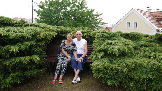 Pension Rosa: я с женой