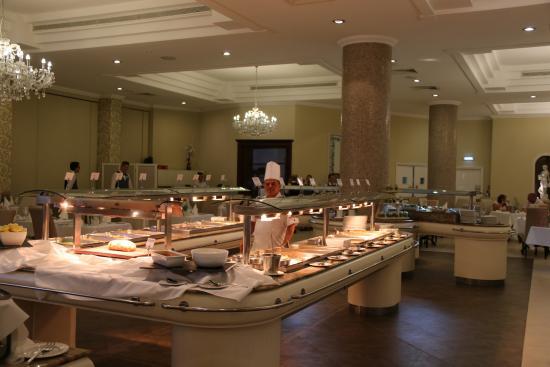 Atlantica Bay Hotel: Restaurant