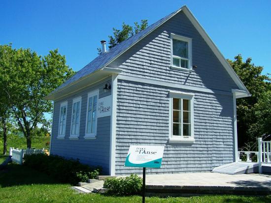 Notre-Dame-du-Portage, แคนาดา: École de l'Anse($), situé dans le parc, Parc de l'Anse-du-Portage